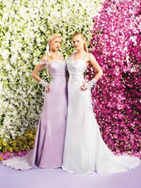 فساتين الزفاف بالالوان ولا اروع 5_0